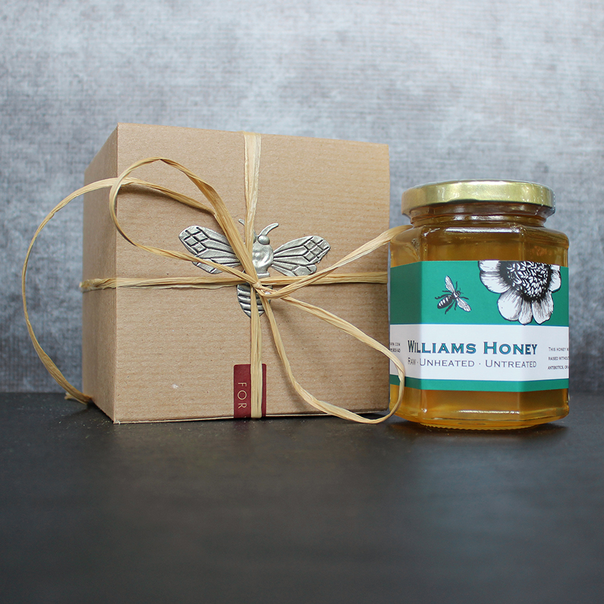 Single Gift Box Of Raw Honey