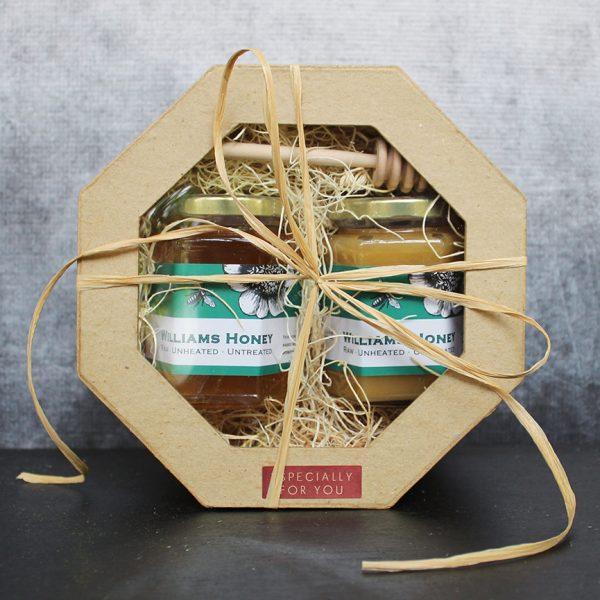 Raw Honey Double Gift Box