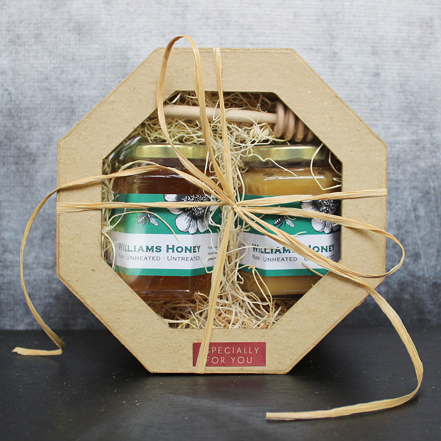 Raw Honey Double Gift Box