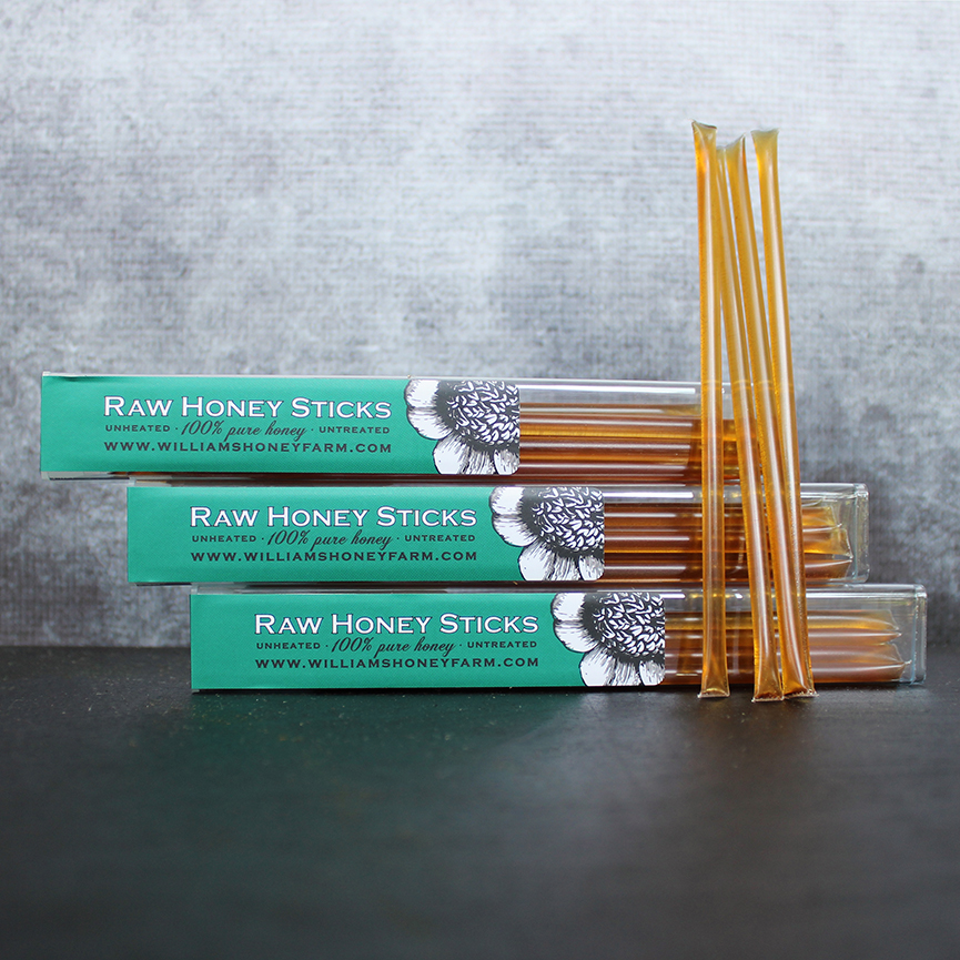 Raw Honey Sticks